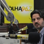 Edgard Leonardo na Rádio Folha FM