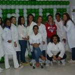 Estudantes promovem bem-estar em hospital