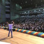 Projeto Sonho e Vida reúne mais de cinco mil jovens no Centro de Convenções